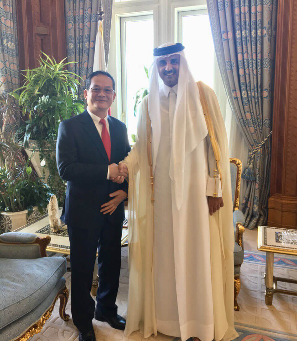 Vietnamese-Ambassador-to-Qatar-presents-credentials
