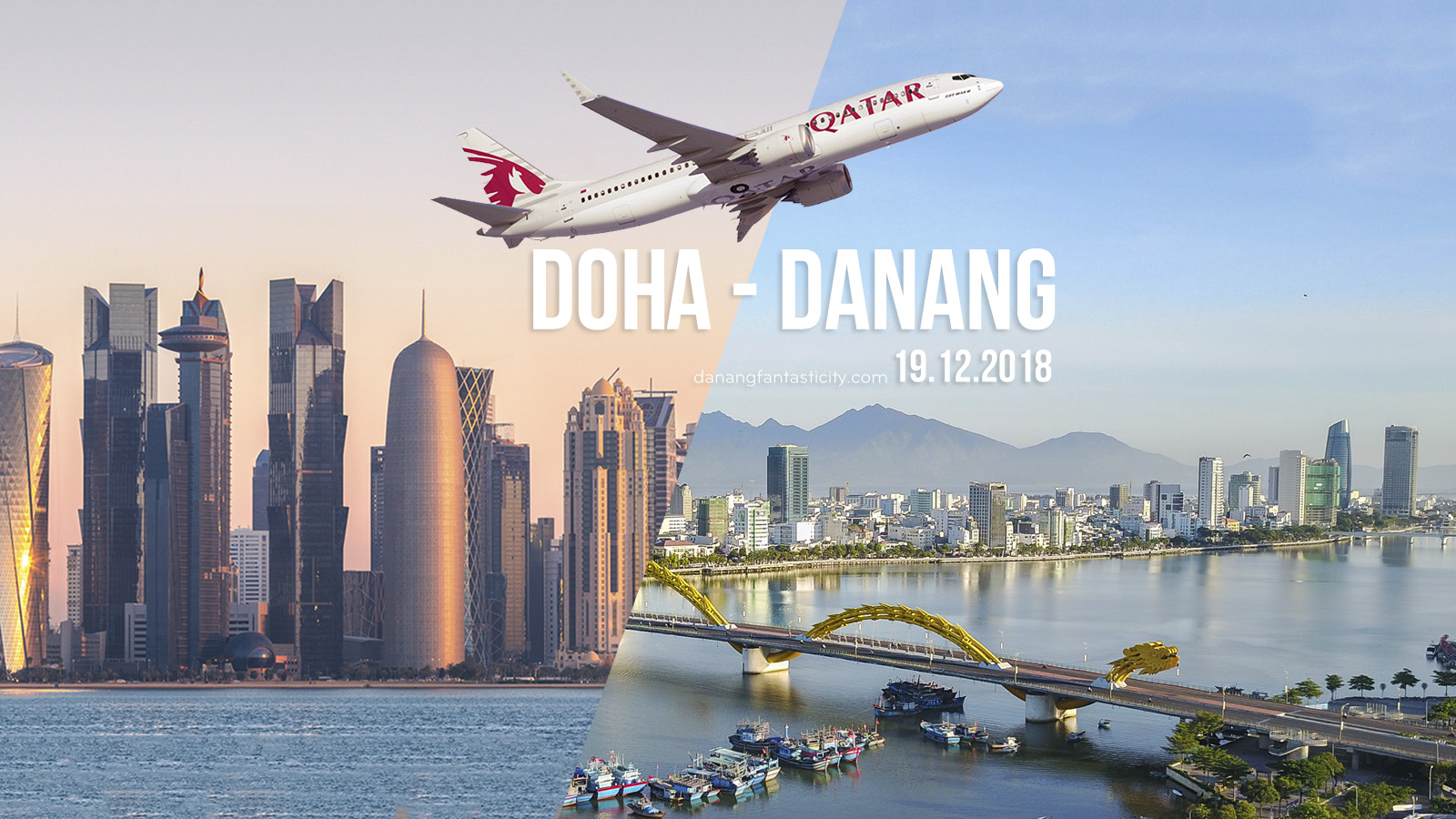 QATAR AIRWAYS TO LAUNCH DA NANG, VIETNAM, CONNECTION IN DECEMBER