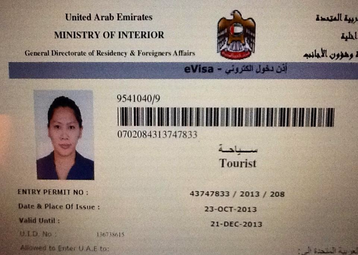 Visa Dubai cho người Việt đi du lịch, thăm thân, công tác