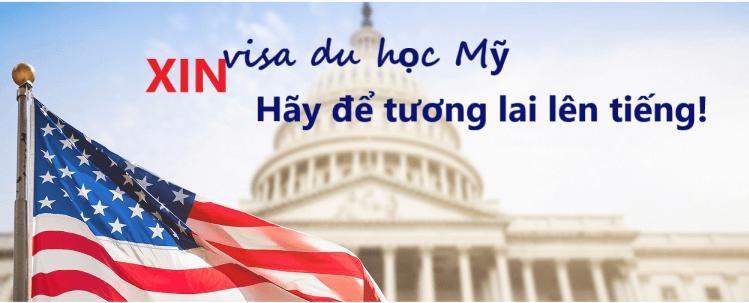 Xin visa du học Mỹ – Hãy để tương lai lên tiếng!