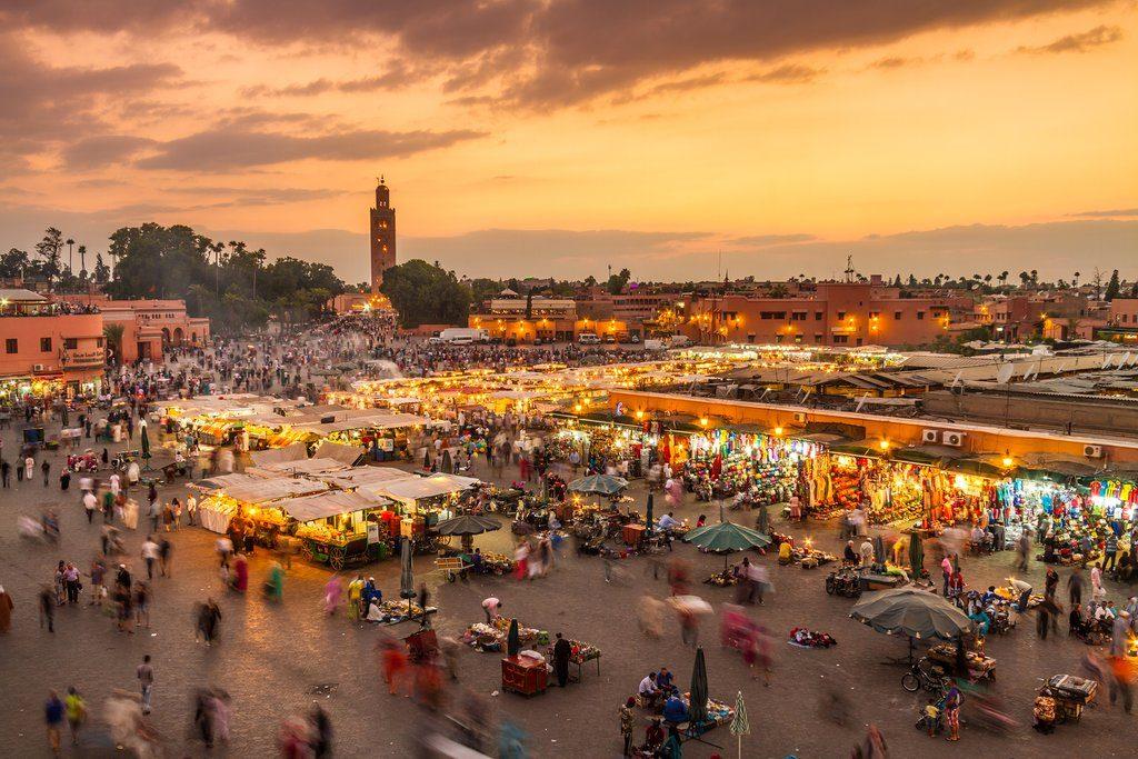 thủ tục xin visa đi Maroc