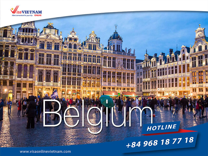 Vietnam visa requirements for Belgium citizens – Visa Vietnam en Belgique