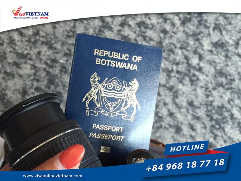Best way to get Vietnam visa on arrival in Botswana