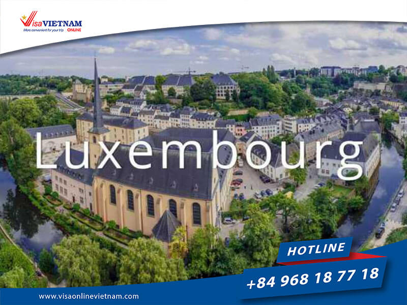 How to get Vietnam visa on arrival in Luxembourg?