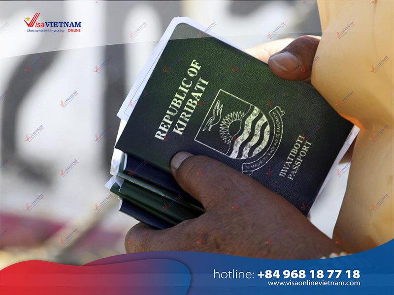 How to get Vietnam visa on Arrival in Kiribati?