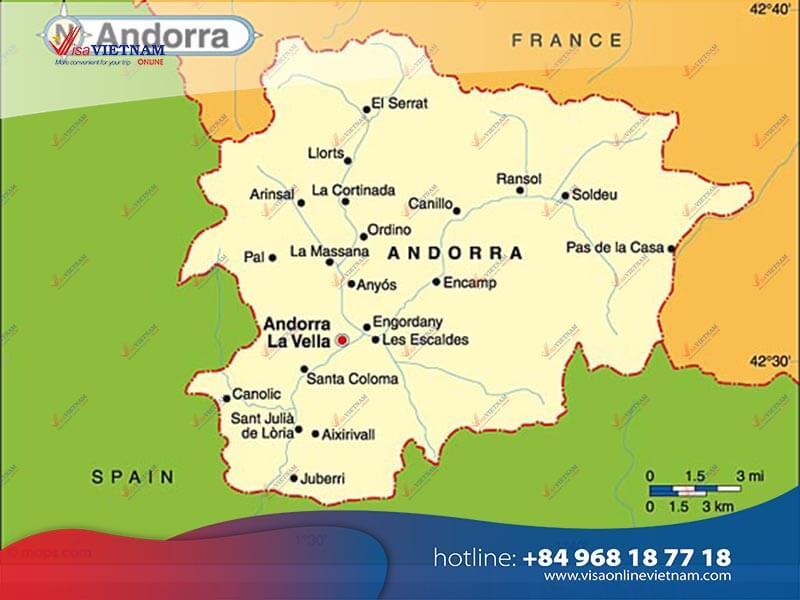 How to get Vietnam visa in Andorra? - Visa de Vietnam en Andorra