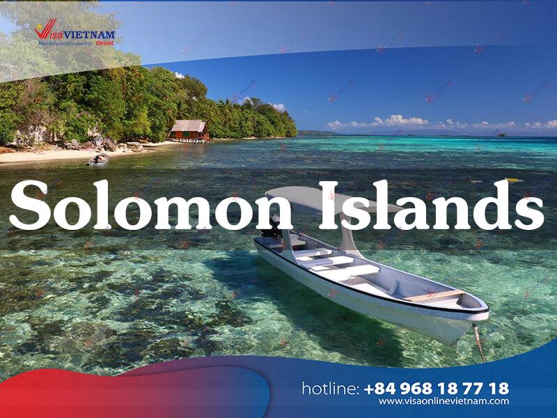 How can foreigners get Vietnam visa in Solomon Islands?